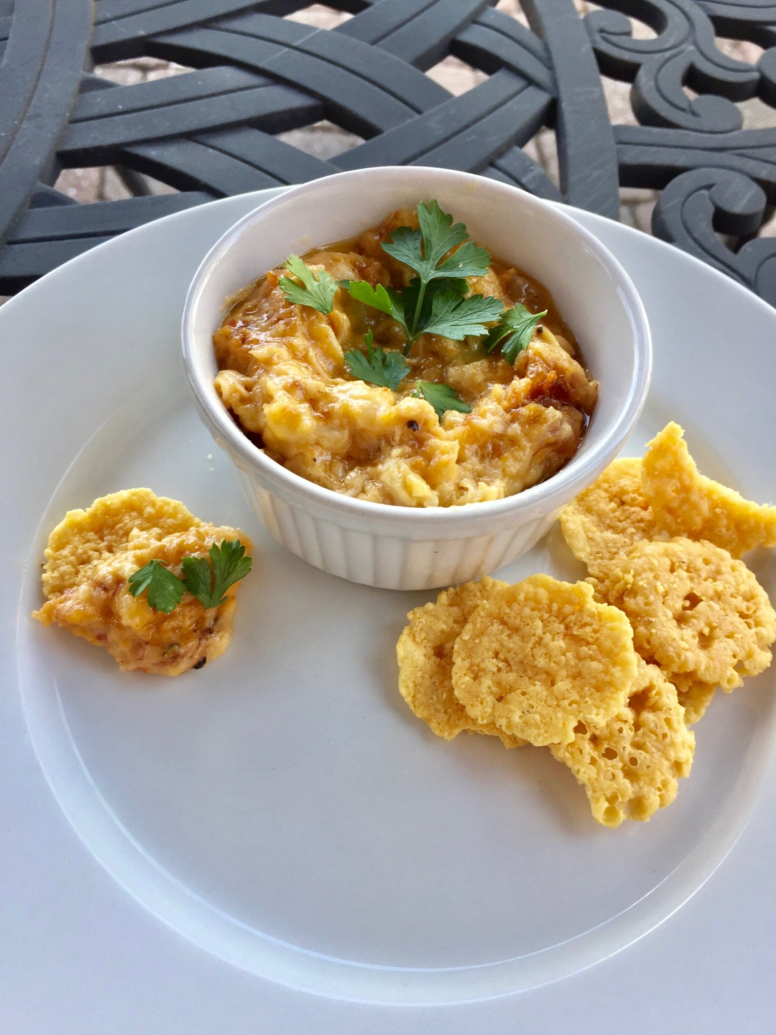 Sweet Heat and Savory Crab Dip
