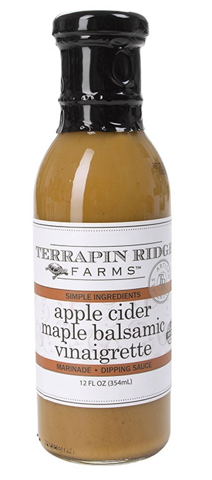Apple Cider Maple Balsamic Vinaigrette