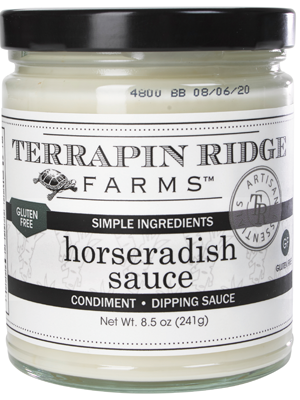Horseradish Sauce Terrapin Ridge Farms Gourmet Sauces Spreads Dips Mixes And Specialty Foods