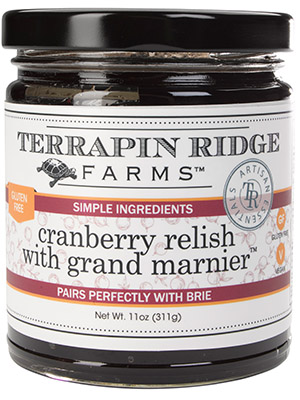 Cranberry Relish With Grand Marnier (TM)