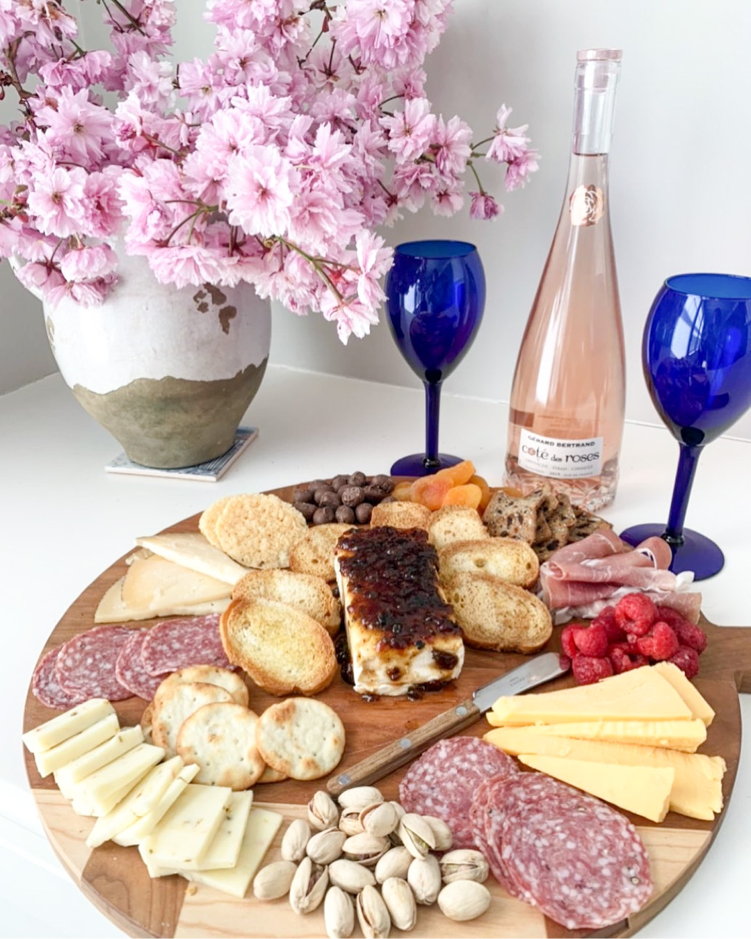 How to Make a Summer Cheese Board | Summer Cheese, Wine and Accoutrements
