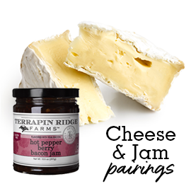 Our 5 Favorite Cheese and Product Pairings