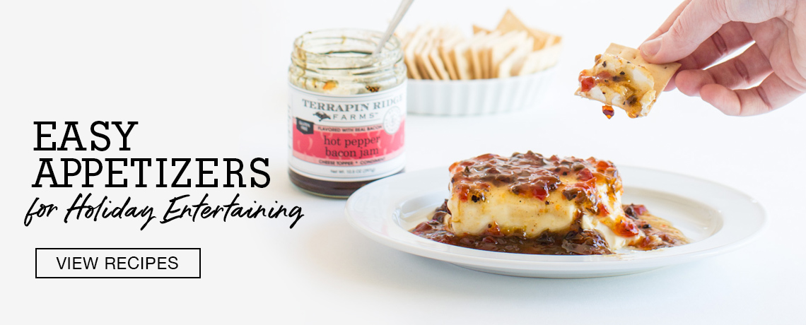 Easy Holiday Entertaining, Hot Pepper Bacon Jam, Bacon Jam with Cream Cheese