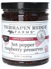 Hot Pepper Raspberry Preserves