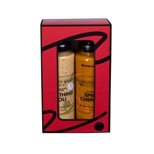 Everything Aioli and Spicy Chipotle in a Gift Box