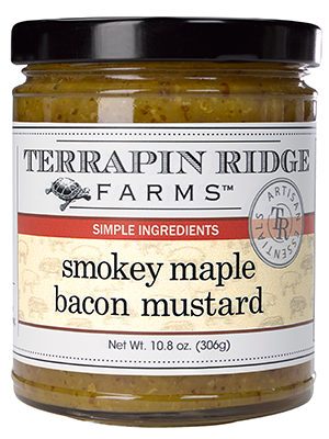 Smokey Maple Bacon Mustard
