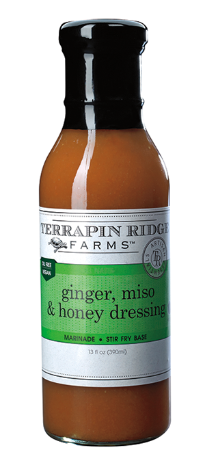 Ginger, Miso and Honey Salad Dressing