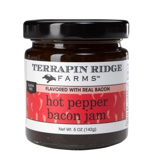 Hot Pepper Bacon Jam, Hot Pepper Jam with Bacon
