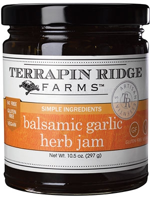 Balsamic, Garlic and Herb Gourmet Jam
