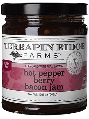 Hot Pepper Berry Bacon Jam